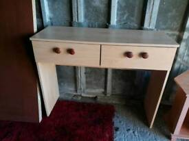 Used Occasional table with draws