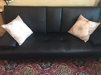 FREE DELIVERY in Bournemouth Three seater settee in good condition. Non smoking home.Brand New!