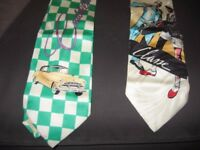 Man Contemporary Art Tie