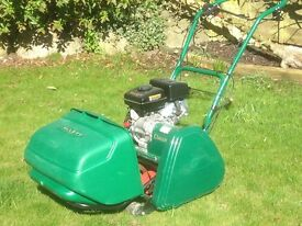 Allett classic rotary lawn mower - less than 6 months old - practically brand new