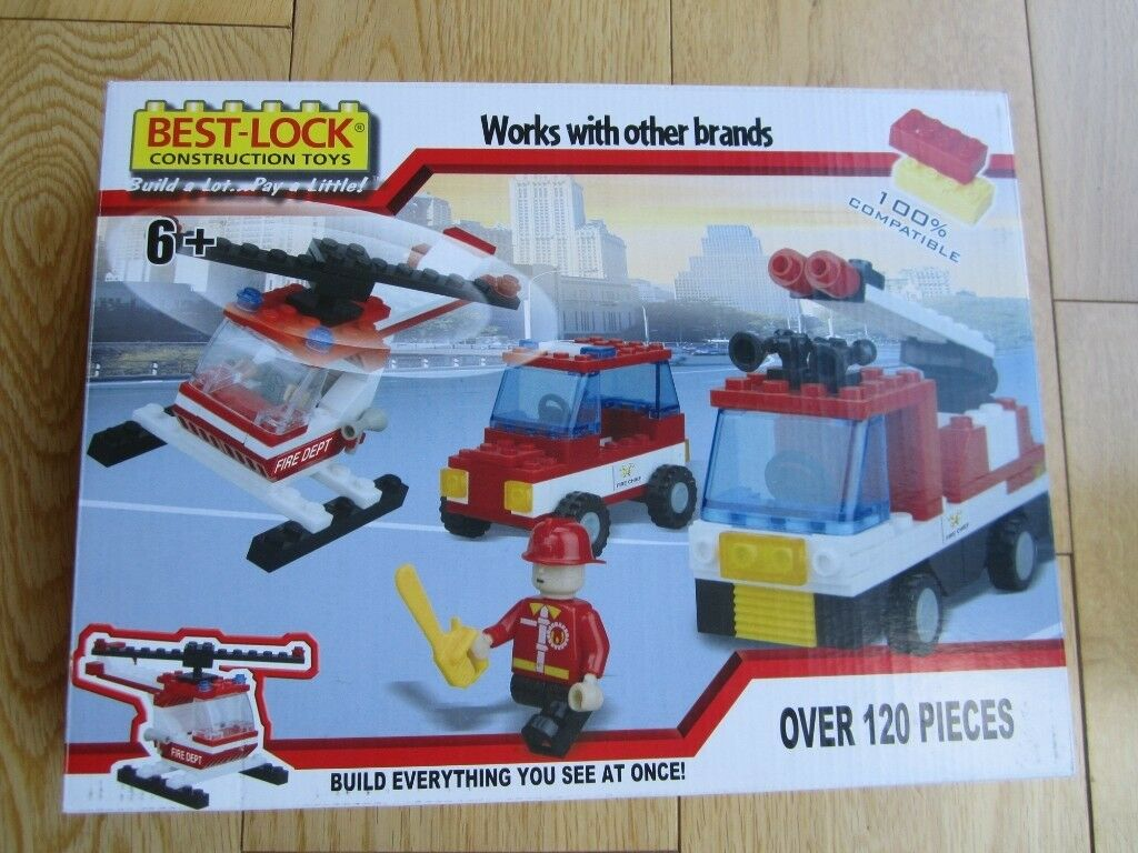 BEST-LOCK CONSTRUCTION TOY~ OVER 120 PIECES ~ BRAND NEW ~ AGE 6+ ~ £4 | in  Kirby Muxloe, Leicestershire | Gumtree