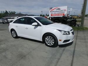 2011 Chevrolet Cruze LT Turbo! CERTIFIED!