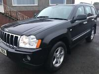 2007 Jeep Grand Cherokee 3.0crd Limited Auto / Part Exchange Welcome