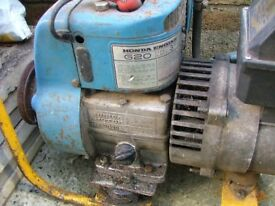 Old Honda Engine/Stephill Gas Generator