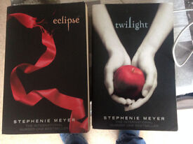 2 Books: Twilight and Eclipse