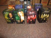 vhs video tape box set buffy vampire slayer