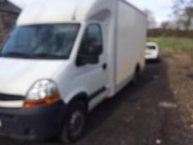 Renault master low floor box van