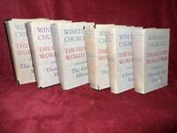 Winston Churchill THE SECOND WORLD WAR Complete Set of 6 Volumes in Dustjackets