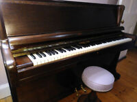 Quality and cute Challen upright piano