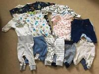 Bundle of newborn items baby boy