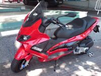2011 Gilera Nexus Automatic only 1800 miles from new, mature one owner