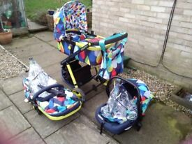 Cosatto giggle 2 full travel system