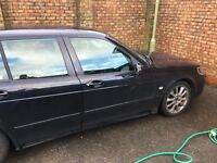 Saab 9-5 Vector Sport - Diesel Estate - Black - New MOT - Leather - all electric - Air Conditioning
