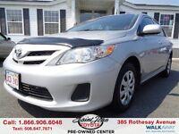 2011 Toyota Corolla CE $109.98 BI WEEKLY!!!