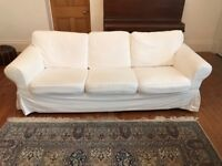 Ikea Ektorp 3-Seat Sofa - Two Available