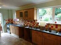 Large Fitted kitchen, Oak Decor, ready to collect
