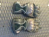 2 pairs used Motorbike gloves