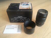 Fujinon XF 55-200 + Hoya UV filter