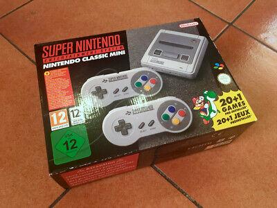 Nintendo Classic Mini - SNES (prima edizione italiana nuova)