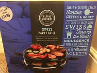 *New* Swiss Party Grill / Raclette.