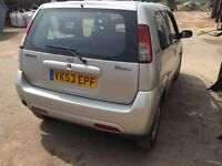 Suzuki Ignis - not swift 2003 85k, fuel and LPG !!! valid MOT - 4£ for 60 miles!!!