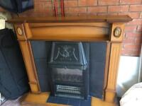 Fire surround and hearth