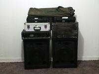 Small GIG Band PA,and recording setup