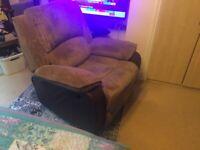 Armchair reclining