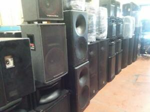 WAREHOUSE SALE FOR PRO AUDIO EQUIPMENT - MASSIVE DISCOUNTS -  VENTE DENTREPÔT POUR MATÉRIEL AUDIO PRO - PRIX INCROYABLE