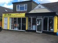 Retail shop A1 usage to let due to re location - out of town with parking