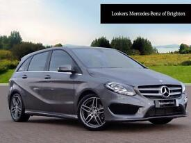 Mercedes-Benz B Class B 200 D AMG LINE EXECUTIVE (grey) 2016-10-25