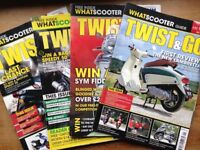 Scooter magazines for sale