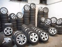 ALLOY WHEELS AUDI BMW CITROEN HONDA FORD VW VAUXHALL MERCEDES 99