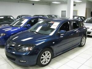 2007 Mazda MAZDA3 SPORT AUTO!! LOADED!! HATCHBACK!! ALLOYS!!