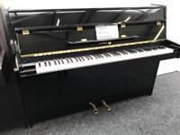 Yamaha E108 Upright Piano Made in Japan Black Warranty & Stool