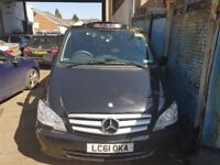 Mercedes Vito Taxi's For Rent