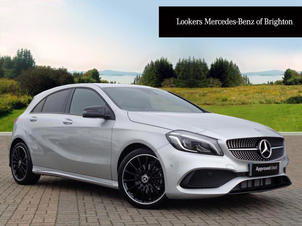 mercedes benz a class a 200 d amg line premium silver 2017 09 29 in portslade east sussex. Black Bedroom Furniture Sets. Home Design Ideas