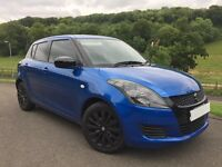 2011 SWIFT 1.2 SZ3 MANUAL METALIC BLUE STUNNING LOOKING CAR WITH SWIFT SPORT LOOKS