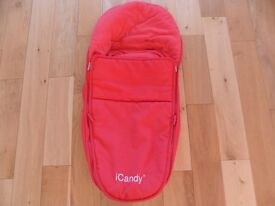 iCandy Apple Luxury Footmuff / Cosy Toes