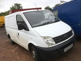 Ldv maxus van spare parts available turbo injector alternator fuel pump starter motor
