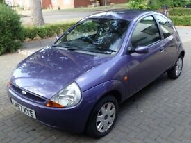 Ford KA, Reliable and Air-Conditioned, in Metallic Purple