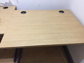 SOLID WOOD Computer desk / office desk / study table in excellent condition really top quality