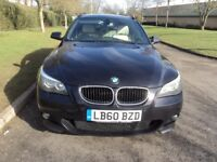 2011'Bmw 520d m-sport touring semi auto superb condition