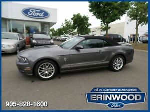 2013 Ford Mustang V6 - 3.7L V6/MANUAL/LTHR/PONY PKG/SYNC
