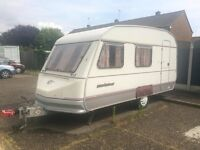 Sprite Muskateer XL 4 berth With Xtra large awning with two additional berths sleeping 8 in total!
