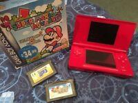 Nintendo DS & 2 x Super Mario games