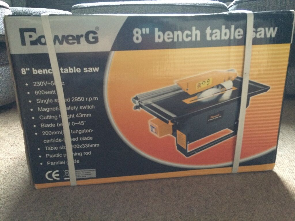 Powerg 8 Bench Table Saw Brand New Unopened In Rotherham South Yorkshire Gumtree