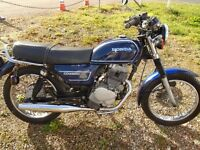 Winter Project Honda CD 250