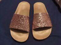 New Glittery Slipper/Sandals.