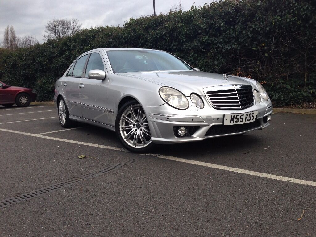 2004 54 mercedes benz e270 cdi with amg body kit avantgarde w211 not e320 in leyton. Black Bedroom Furniture Sets. Home Design Ideas